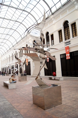 Escultura tercer milenio museo fernando garc a ponce macay for Exposicion 4 milenio horario